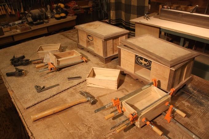 Простота и изящество деревянных ящиков