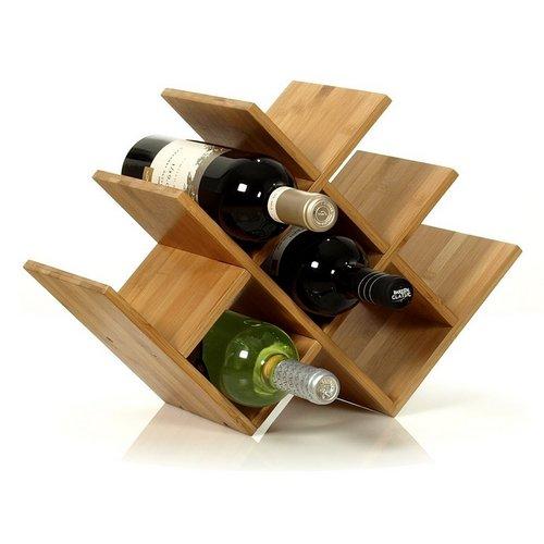 Подставка для бутылки вина из дерева своими руками 52